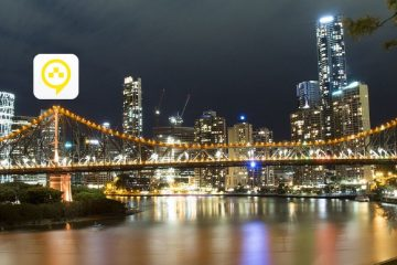 brisbane bridge taxify