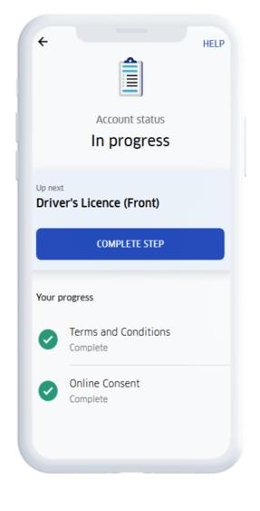 registration status uber driver