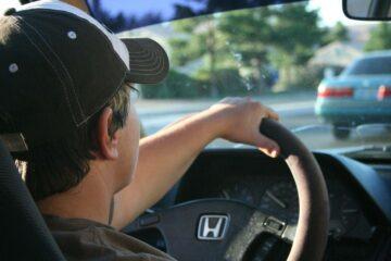 ridesharing driver illustration