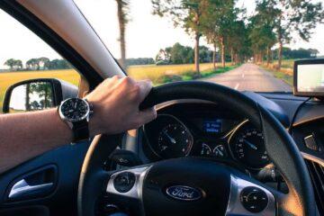 suburb driving