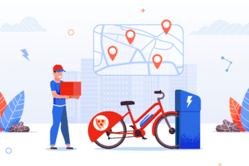 e-bike delivery driver partner