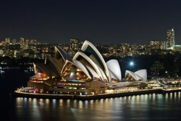sydney in night