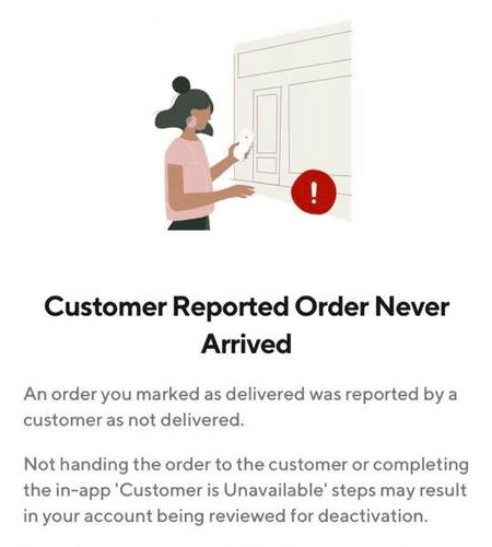 report notification